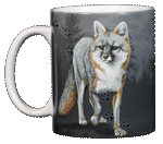 Fox Trax Ceramic Mug - Front