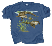 Otter Splash Youth T-shirt