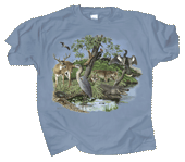 Southern Nature Adult T-shirt - Front