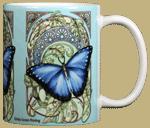 Nouveau Morpho Ceramic Mug