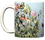 Roadside Flowers Ceramic Mug