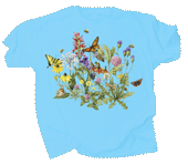 Roadside Flowers Adult T-shirt - Front
