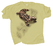 Gila Monster Trax Adult T-shirt - Front