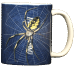 Big Spider Ceramic Mug - Back