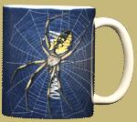 Big Spider Ceramic Mug - Back