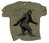 Bigfoot Adult T-shirt
