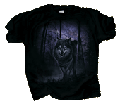 Spirit of the Wolf Adult T-shirt - Front