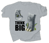 Think Big Youth T-shirt - Front