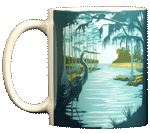 Swamp Life Ceramic Mug - Front test8