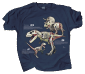 Dino Anatomy Adult T-shirt