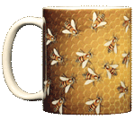 Bee Hive Ceramic Mug