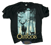 Forest Life Adult Comfort Color T-shirt
