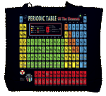 Periodic Table Canvas Tote