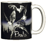 Discharge Bats Ceramic Mug - Back