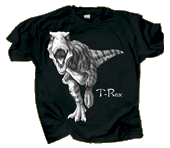 Discharge T-Rex Adult Comfort Colors T-shirt