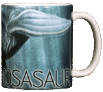 Mosasaur Ceramic Mug - Back