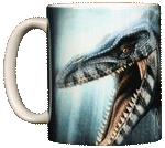 Mosasaur Ceramic Mug