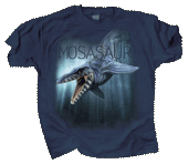 Mosasaur Adult T-shirt