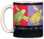 Imagine Sea Turtles Ceramic Mug - Front test8