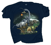 Dinosaur Kingdom Youth T-shirt