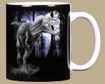 T-Rex Ceramic Mug - Back
