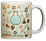 Science Matters Ceramic Mug - Back