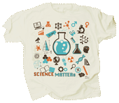 Science Matters Adult T-shirt - Front