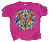 Butterfly Hex Youth T-shirt - Front