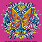 Butterfly Hex Youth T-shirt