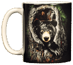Sleepy Bear Ceramic Mug