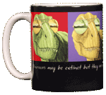 Imagine T-Rex Ceramic Mug
