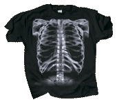 Skeleton X-Ray Adult T-shirt