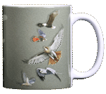 Sky Hunter Ceramic Mug - Back