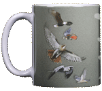 Sky Hunter Ceramic Mug - Front