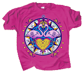 Flamingo Hex Adult T-shirt