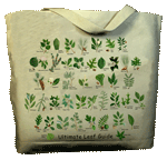 Ultimate Leaf Guide Canvas Tote - Front
