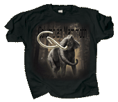 Columbian Mammoth Adult T-shirt - Front