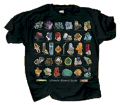 Ultimate Mineral Guide Adult T-shirt - Front