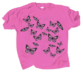 Good & Plenty Butterflies Youth T-shirt - Front