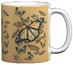 Monarch Kaleidoscope Ceramic Mug