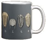 Trilobites Ceramic Mug - Back