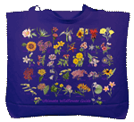Ultimate Wildflower Guide Canvas Tote