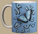 Morpho Kaleidoscope Ceramic Mug
