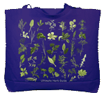 Ultimate Herb Guide Canvas Tote