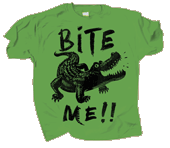 Gator Bite Me Youth T-shirt