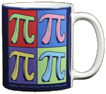 Imagine Pi Ceramic Mug - Back