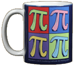 Imagine Pi Ceramic Mug - Front