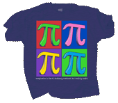 Imagine Pi Adult T-shirt
