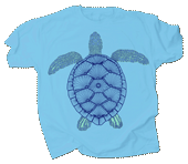 Green Sea Turtle Adult T-shirt