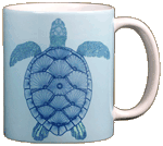 Green Sea Turtle Ceramic Mug